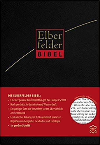 Elberfelder Bibel, große Schrift